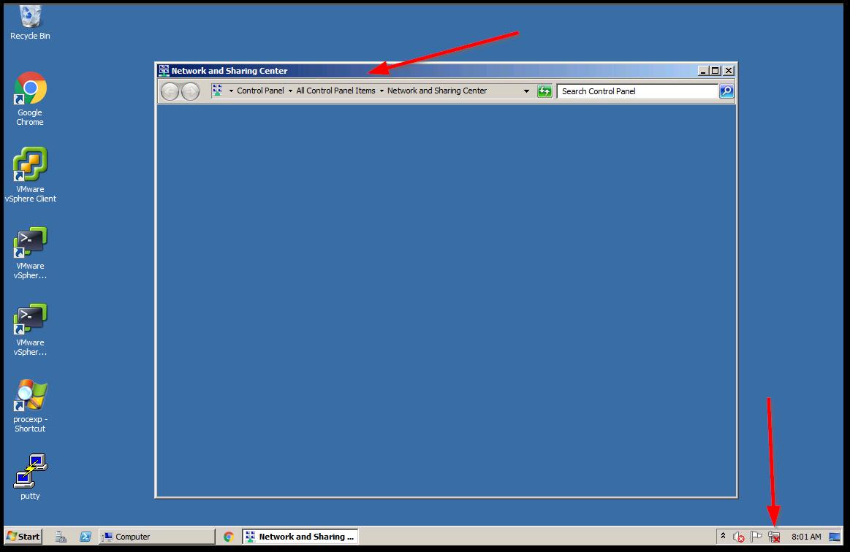 Reset vCenter Inventory Service Database : No Network