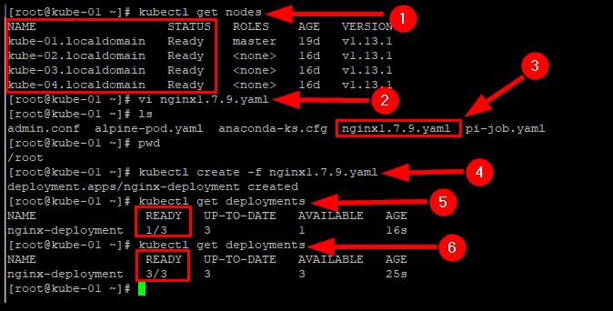 Kubernetes Deployment Rolling Updates : Create a deployment