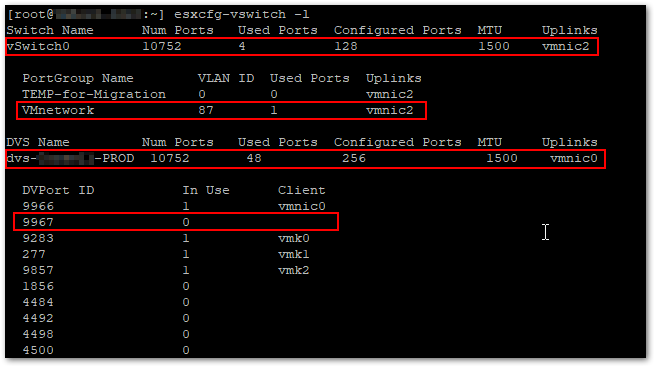 Add A Virtual Machine To A Distributed Portgroup Without A vCenter : Check vNIC assignment again