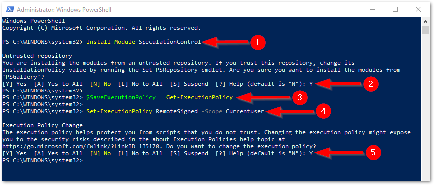 Check Vulnerable Status For Windows Systems : Install Modules