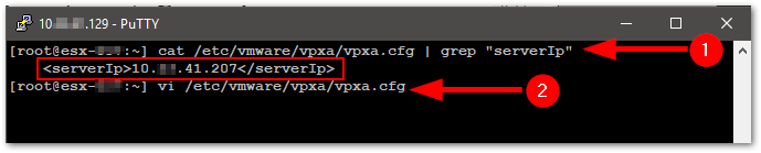 Change The vCenter Server Appliance IP Address Verify