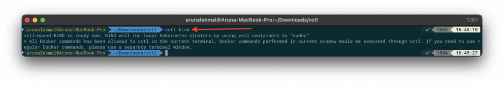 VMware Fusion and Kubernetes kind