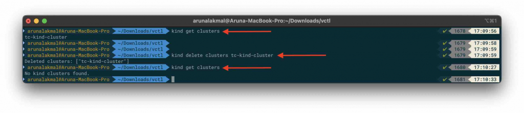 VMware Fusion and Kubernetes  get clusters